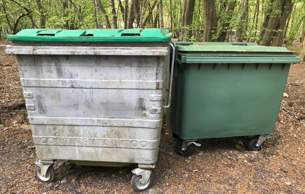 Rubbish Main Bins